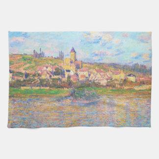 Vetheuil, Claude Monet 1879 Toalla De Cocina