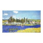 Vetheuil - Claude Monet Impresión En Lona Estirada