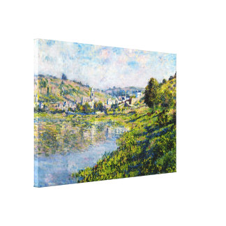 Vetheuil Claude Monet landscape waterscape paint Gallery Wrap Canvas