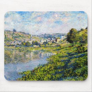 Vetheuil Claude Monet landscape waterscape paint Mouse Pad