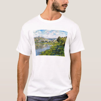Vetheuil Claude Monet landscape waterscape paint T-Shirt