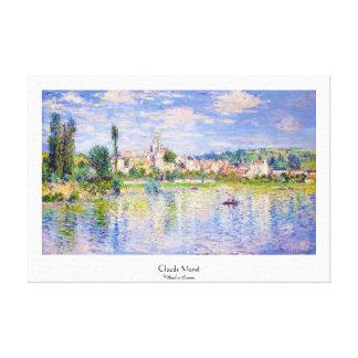 Vetheuil in Summer Claude Monet Canvas Print