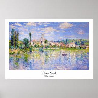 Vetheuil in Summer Claude Monet Poster