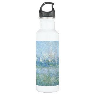 Vetheuil in the Fog Water Bottle