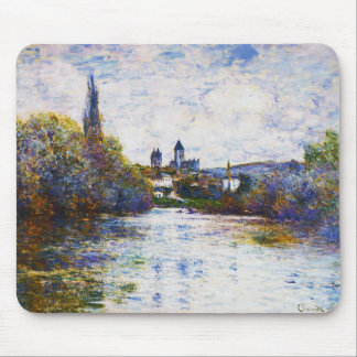 Vetheuil, The Small Arm of the Seine,  Claude Mone Mouse Pad