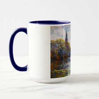 Vetheuil, The Small Arm of the Seine,  Claude Mone Mug