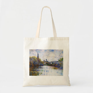 Vetheuil, The Small Arm of the Seine,  Claude Mone Tote Bag
