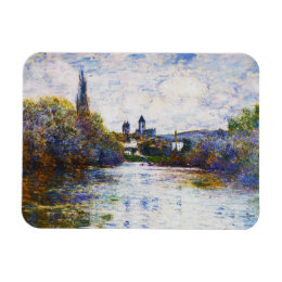 Vetheuil, The Small Arm of the Seine Claude Monet Magnet
