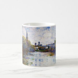 Vetheuil, The Small Arm of the Seine Claude Monet Classic White Coffee Mug