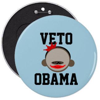 Veto Obama Button