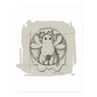 Vetruvian Glob Postcard