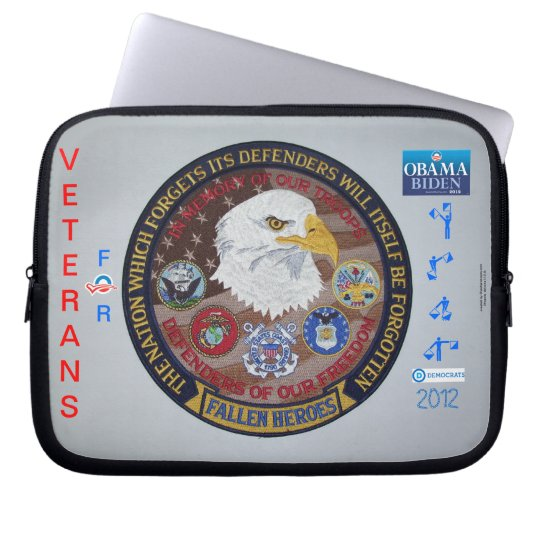 Vets For Democrats ~ Laptop Sleeve