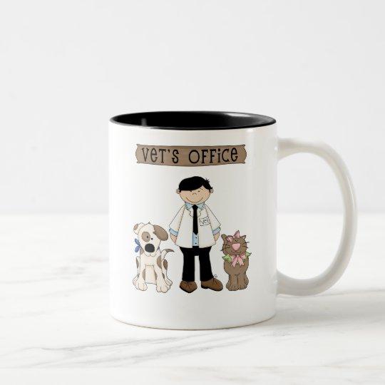 Vet's Office Two-Tone Coffee Mug