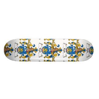 Vett Family Crest Skate Board