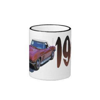 Vette66 Ringer Coffee Mug