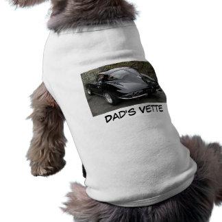 Vette del papá del día de padre ropa de perros