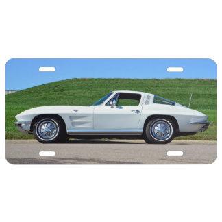 Vette plate license plate