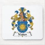 Vetter Family Crest Mouse Mat