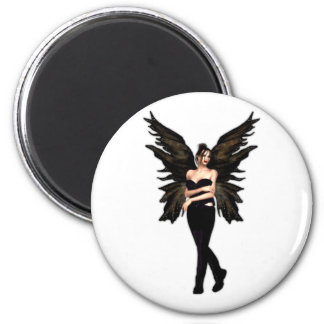 Veuvette Gothic Fairy Refrigerator Magnets