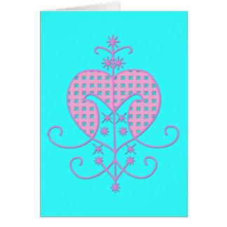 Veve for Erzulie Freda Card