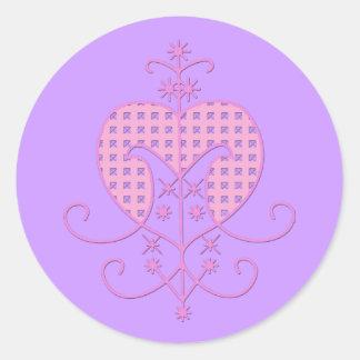 Veve for Erzulie Freda Classic Round Sticker