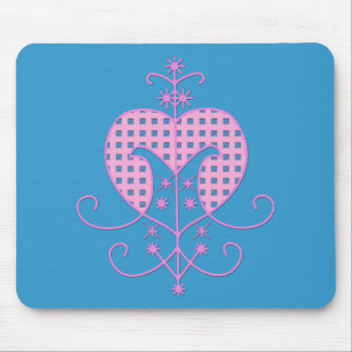 Veve for Erzulie Freda Mouse Pad