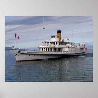 Vevey boat poster
