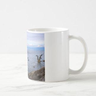 Vevey Paddle boat, Lake Geneva 97 Classic White Coffee Mug