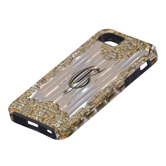 Vex Dazzle Victorian Elegant Glitz Girl iPhone SE/5/5s Case