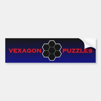 Vexagon Puzzles Bumper Sticker
