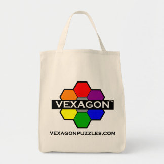 Vexagon Puzzles Tote 2 (Color) Canvas Bag