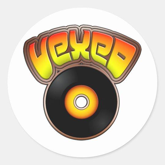 Vexed Classic Round Sticker