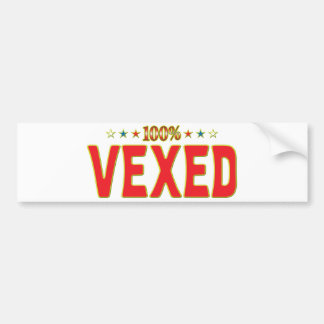 Vexed Star Tag Bumper Stickers