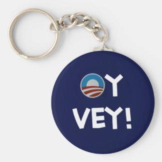 vey oy de obama llavero redondo tipo pin