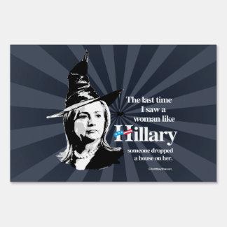 Vez última vi a una mujer como Hillary - Hillar Señal
