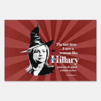 Vez última vi a una mujer como Hillary - Hillar Señales