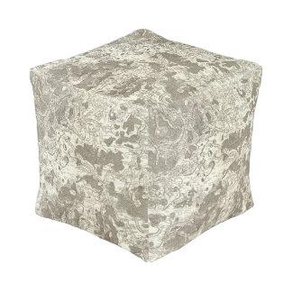 Vezelay, Cosne Cube Pouf