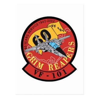 VF-101 Grim Reapers Postcard