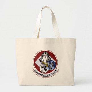 vf-102 diamondbacks large tote bag