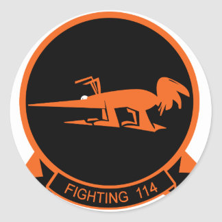 VF-114 Aardvarks Classic Round Sticker