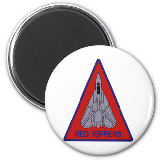 VF-11 Red Rippers 2 Inch Round Magnet