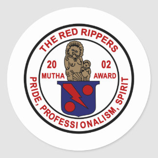 VF-11 Red Rippers Mutha Award Classic Round Sticker