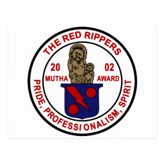 VF-11 Red Rippers Mutha Award Postcard