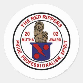 VF-11 Red Rippers Mutha Award Round Sticker