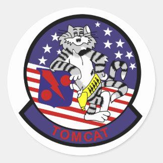 VF-11 Red Rippers Round Sticker