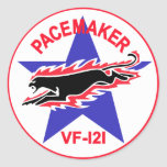 VF-121 los marcapasos Etiqueta Redonda