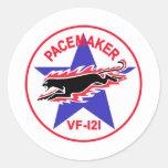 VF-121 los marcapasos Pegatinas Redondas