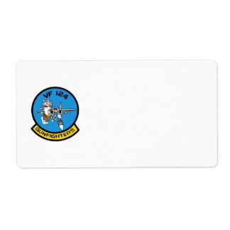 VF-124 Avery Label