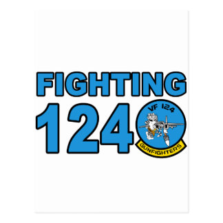 VF-124 Gunfighters Postcard