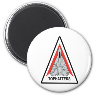 VF-14 Tophatters 2 Inch Round Magnet